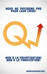 Hausse des tarifs Hydro-Québec